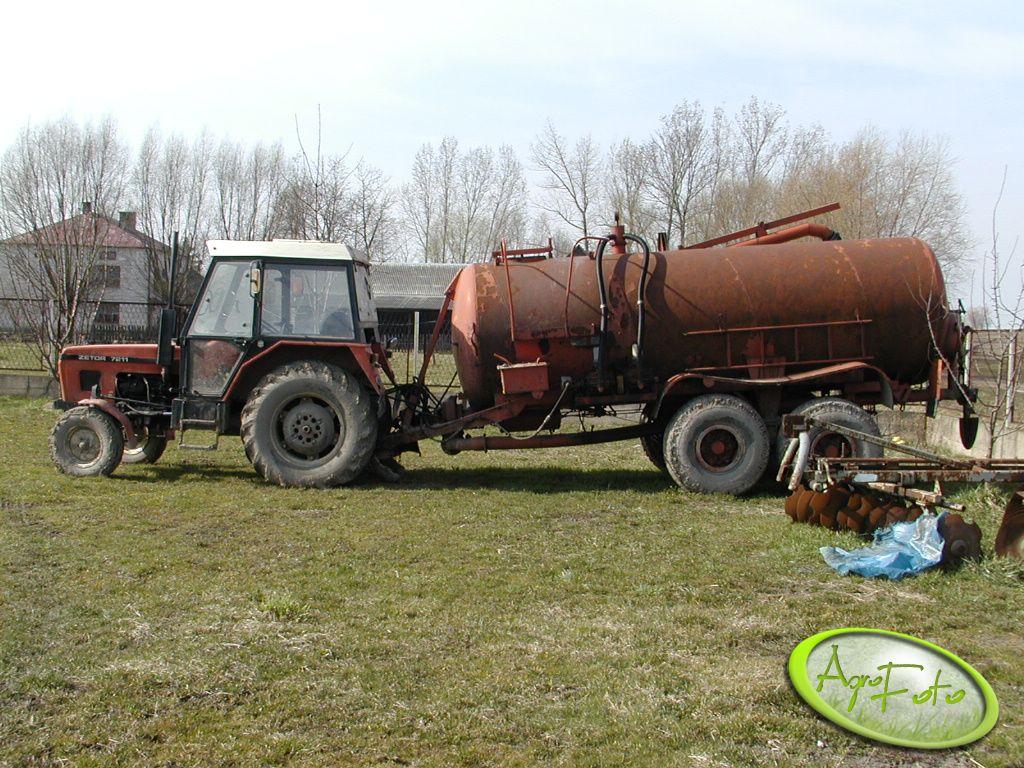 Zetor 7211 + beczka 10tys. litrów