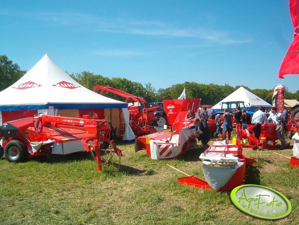Jak na Zielone Agro Show przystało było bardzo dużo maszyn