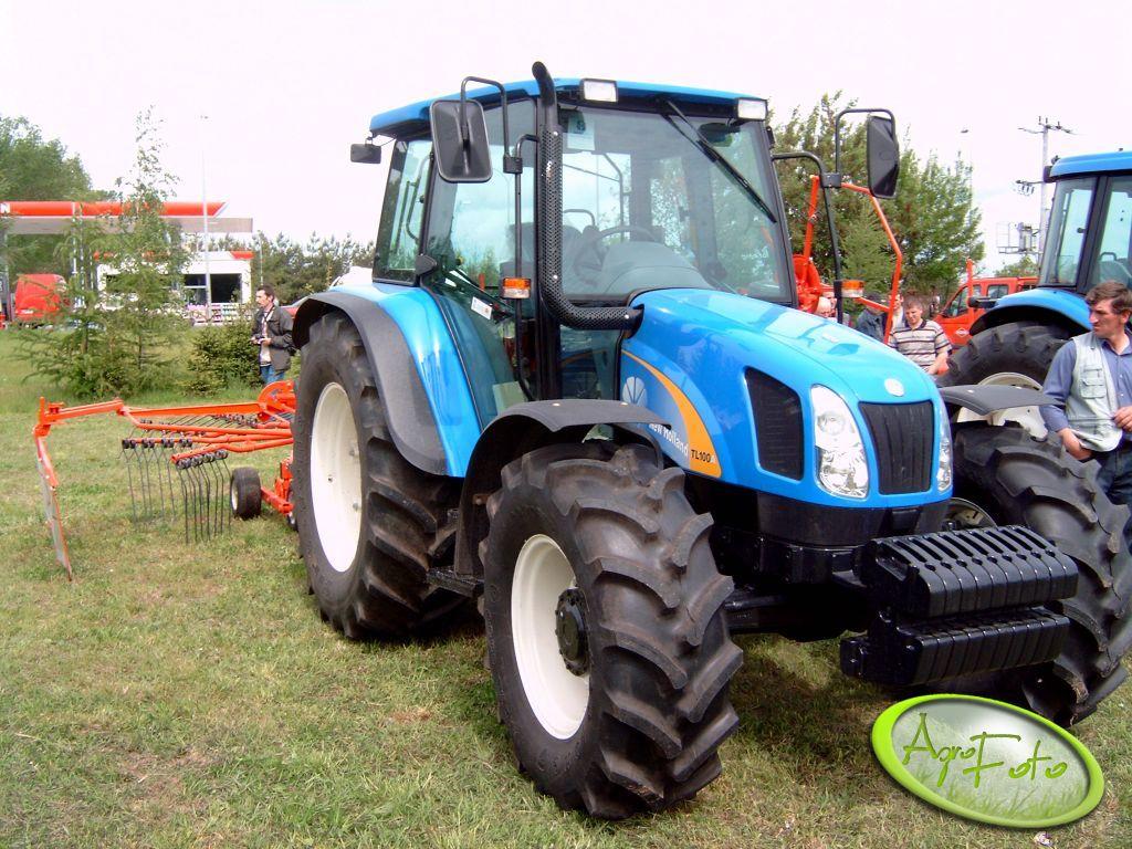 New Holland TL100-chyba troszkę za duży do tej maszyny :)