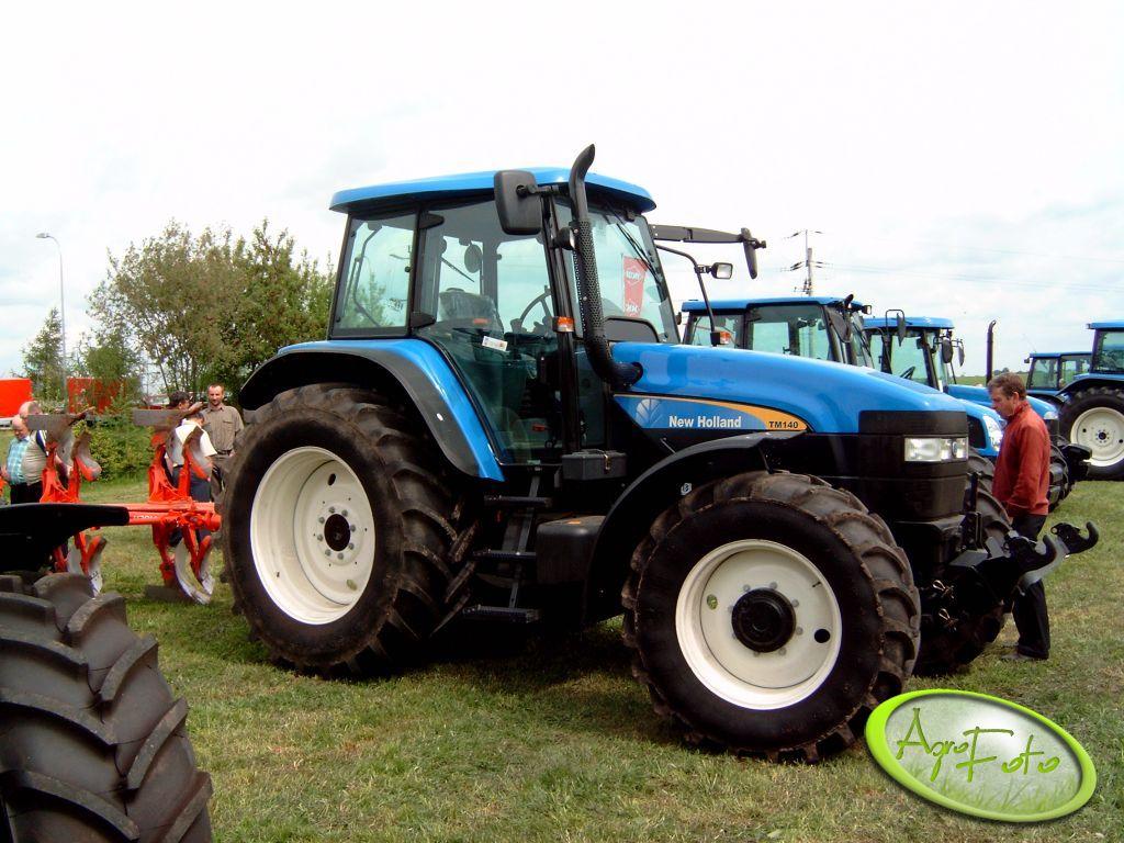 New Holland TM 140-fajny traktorek