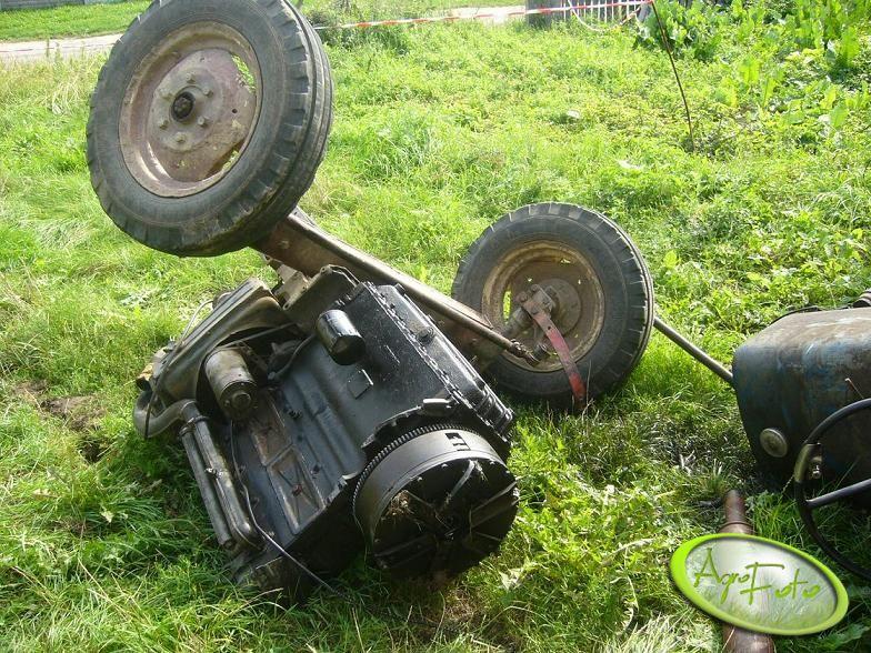 Ursus C-360 po wypadku
