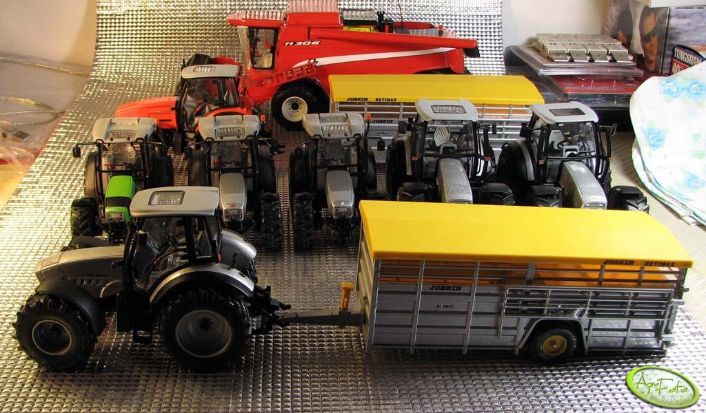 Agro-Modele.pl zestaw ciągników plus kombajn