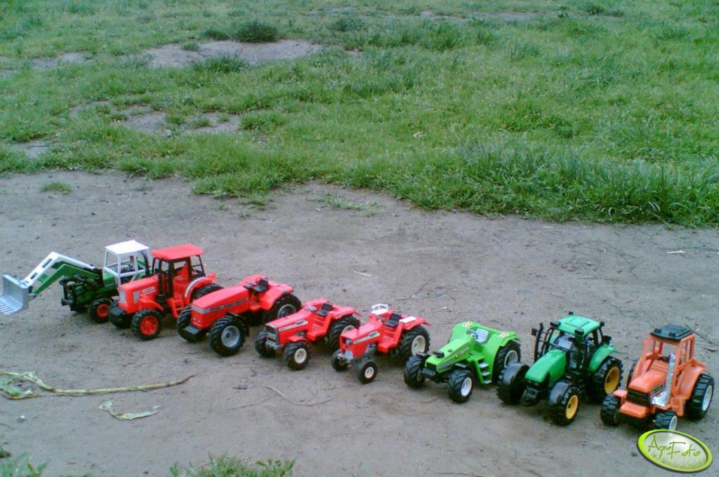 Moje traktory.