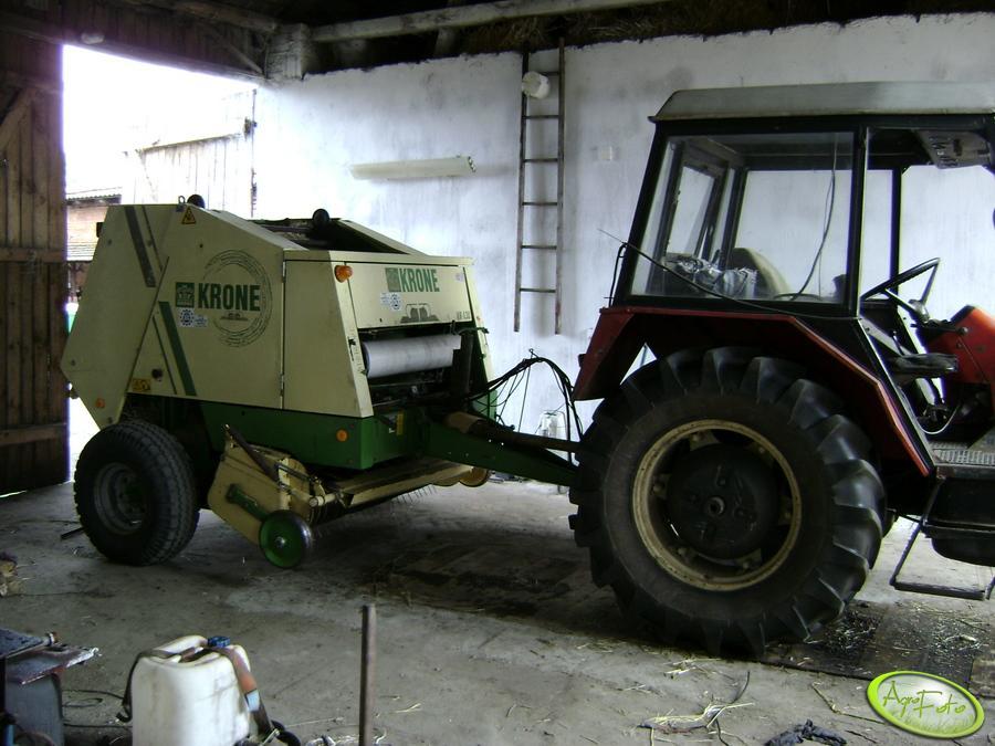 Krone KR 130 + Zetor 7011