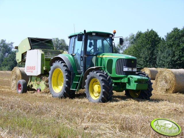 JD 6620 + Claas Rollant 46