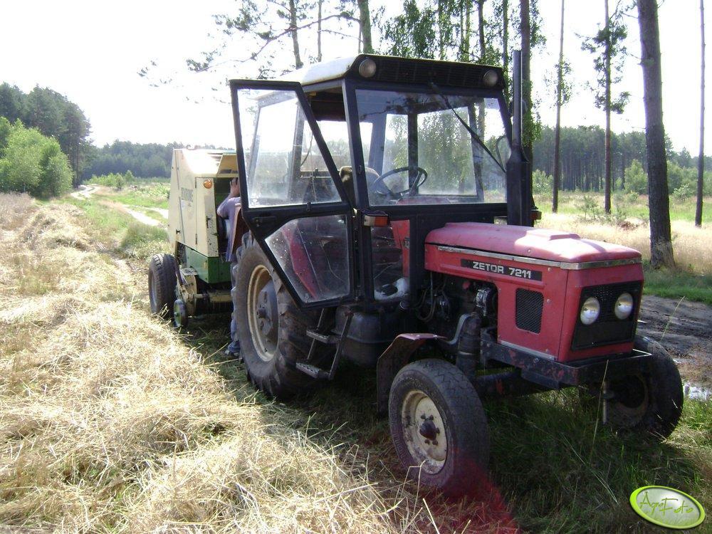 Zetor 7011 + Krone KR 130