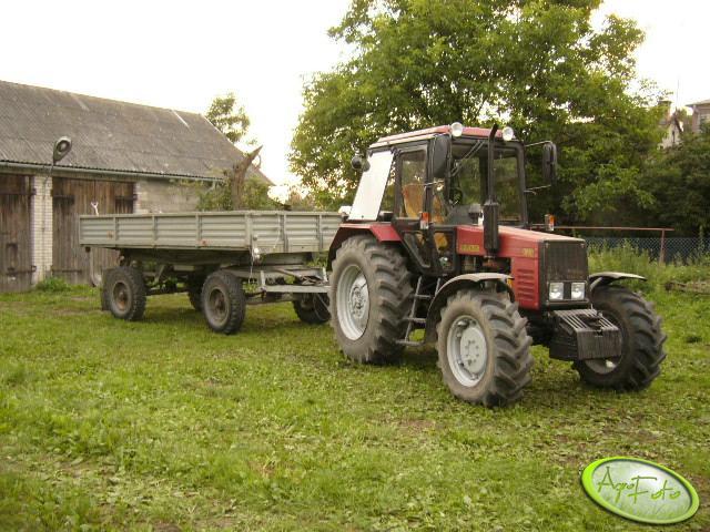Mtz Belarus 820 + Autosan 6t