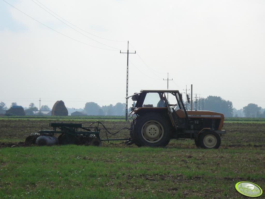 Ursus  912 + brona talerzowa