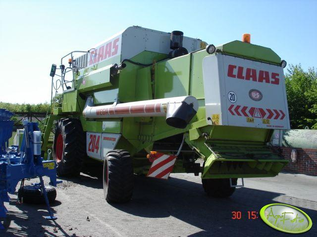 Claas Dominator 204