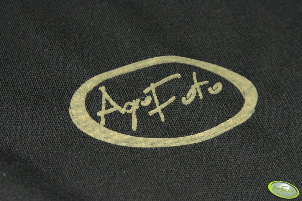 Czarna koszulka AF logo
