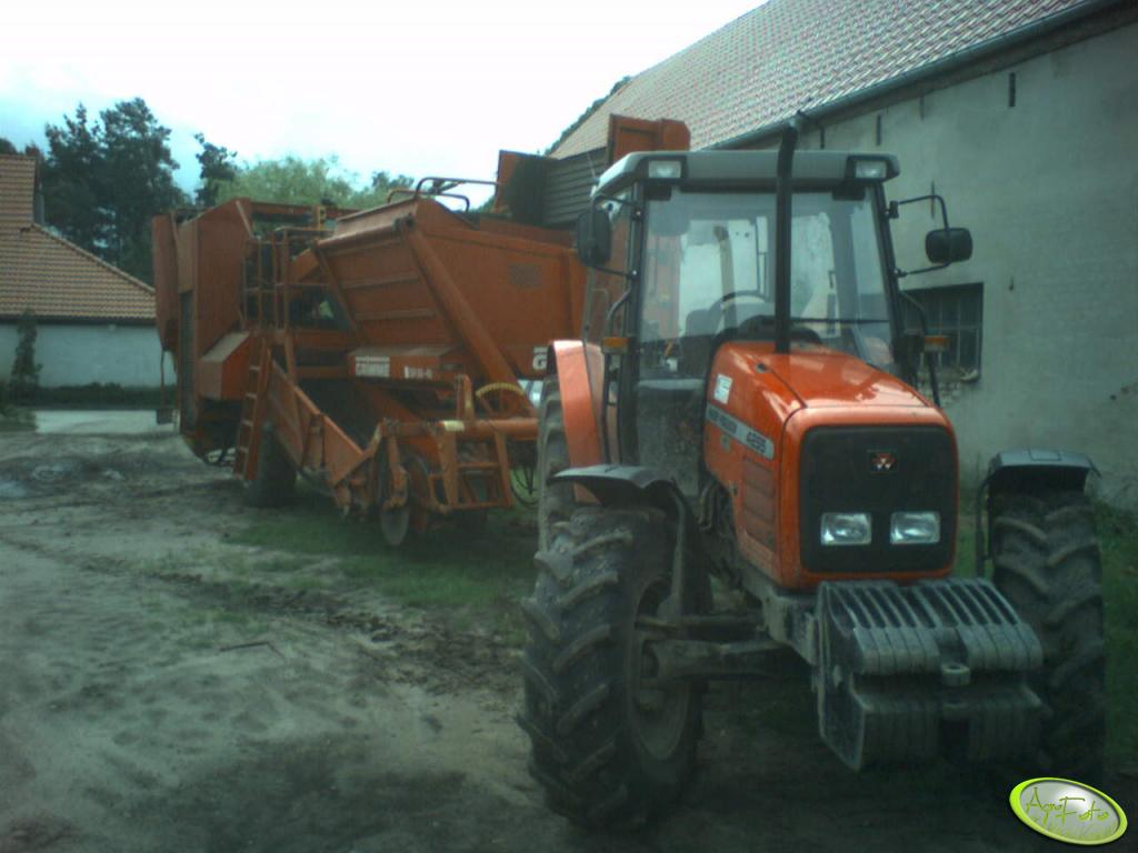 Grimme 80-40 + MF