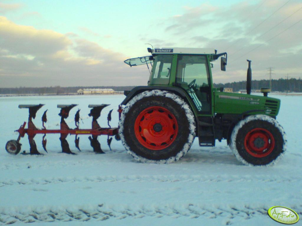 Fendt Farmer 310 + pług Niemeyer