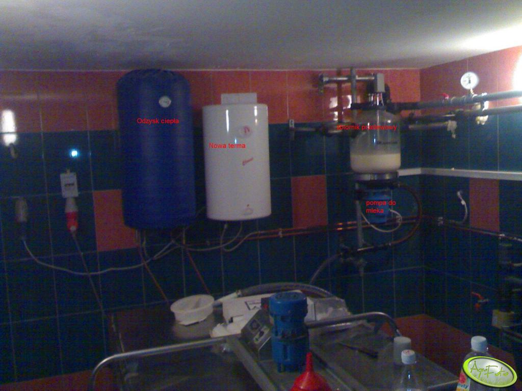 pomieszczenie ze zbiornikiem