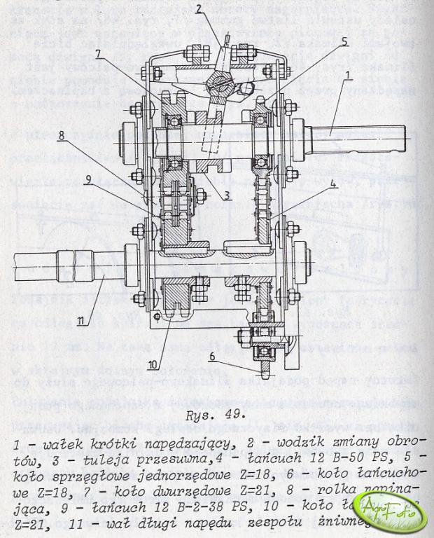 Bizon Z110 BS - rewers