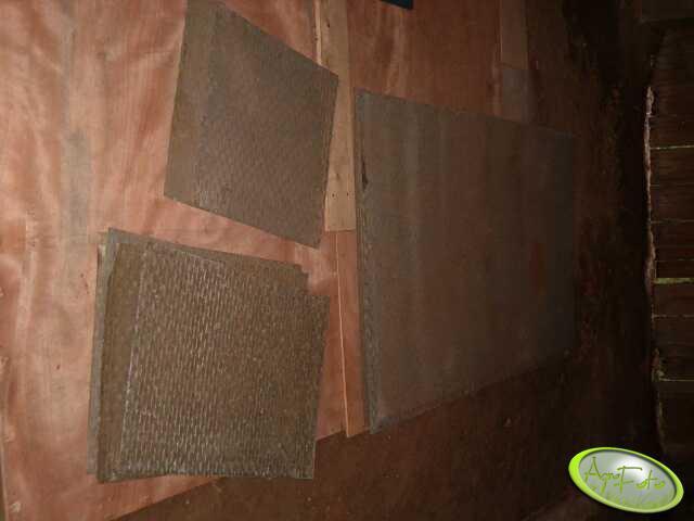 Suszarnia podłogowa - elementy podłogi