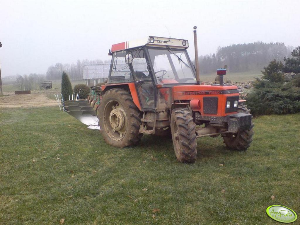 Zetor 7745 Turbo + kverneland