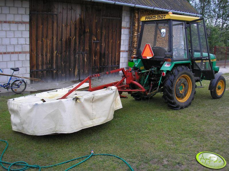 Farm-Mot 250D + duża kosiarka
