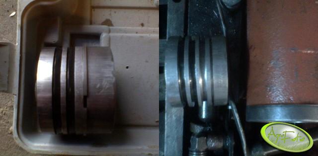 Dodatkowy wpust na pierścień w podnośniku Ursusa C-360