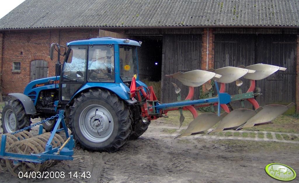 Pronar 82SA + Kverneland + Wał