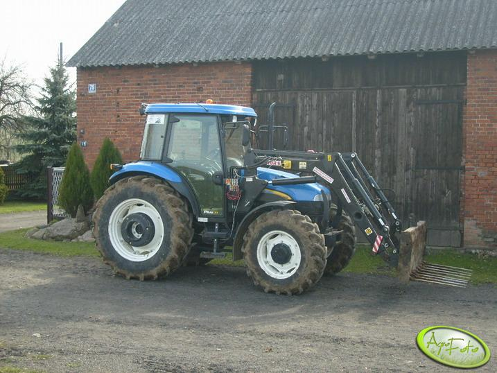 New Holland + Tur 6