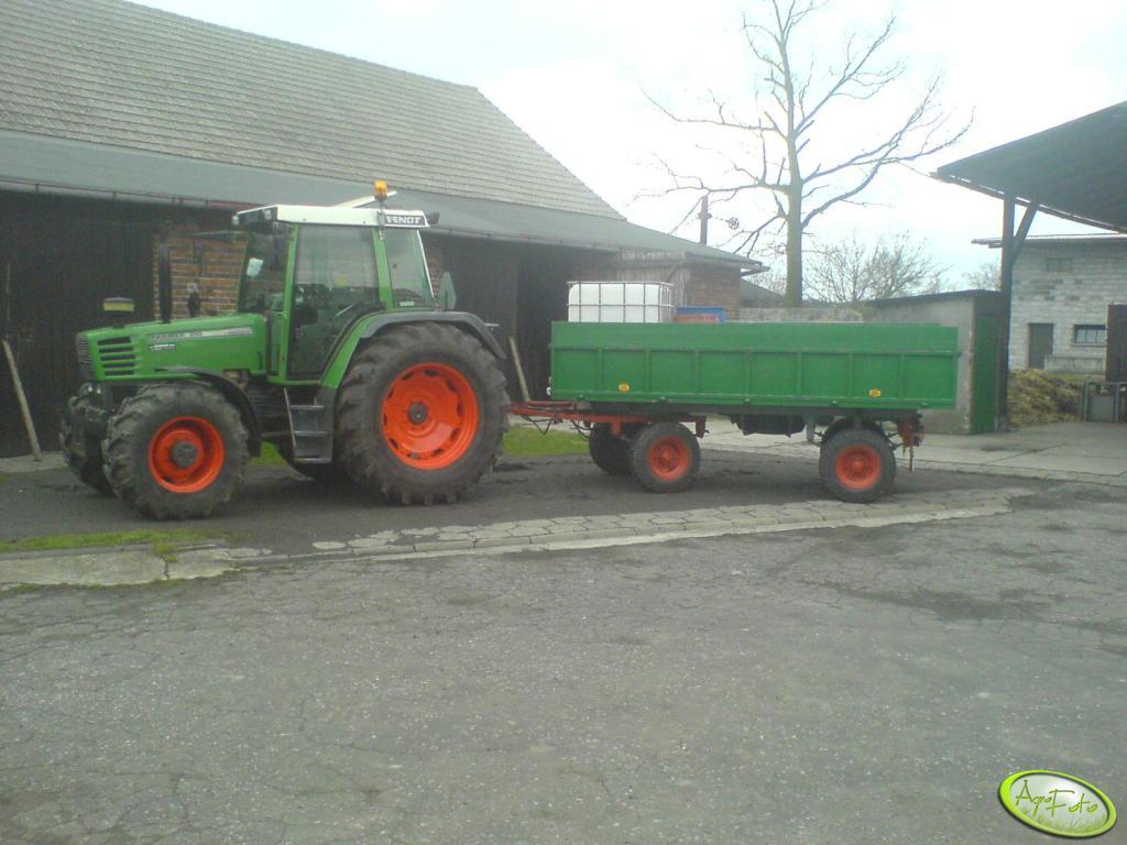 Fendt Farmer 310 + przyczepa Sanok