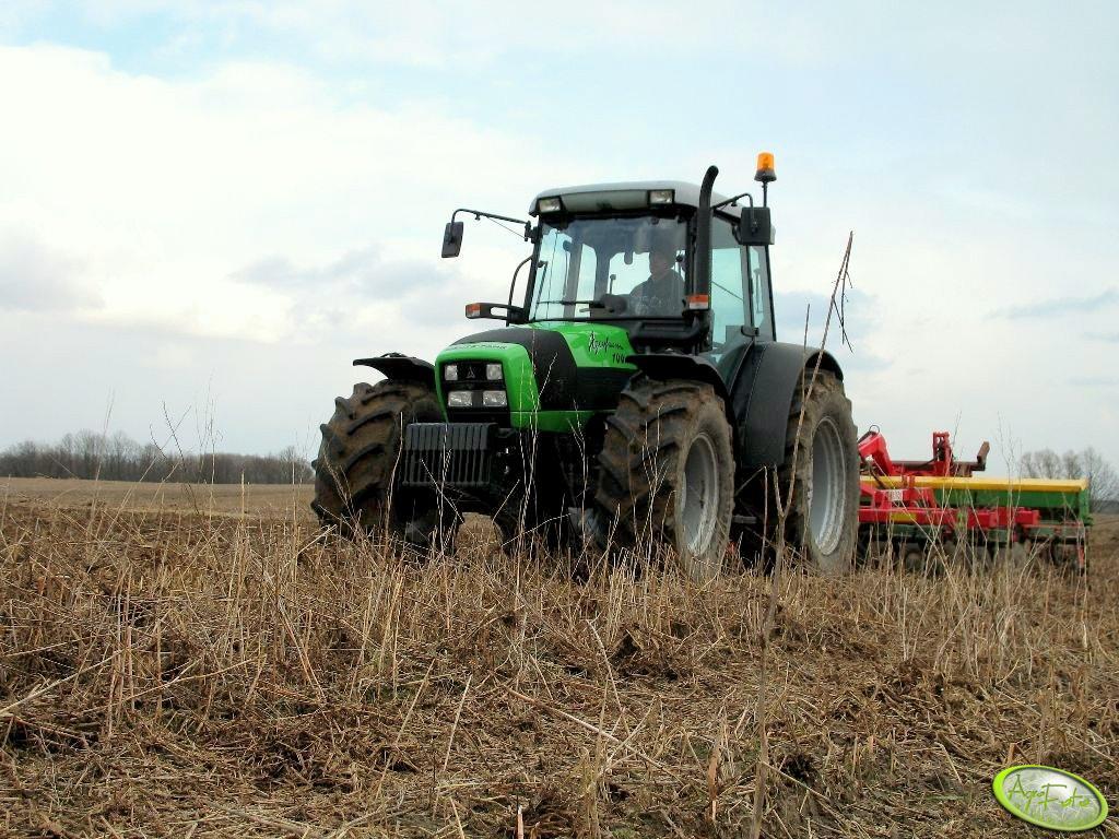 Deutz-Fahr Agrofarm 100 + Ares 4m