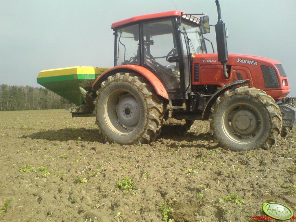 Farmer 8244 C2 + Amazone ZAU 1501