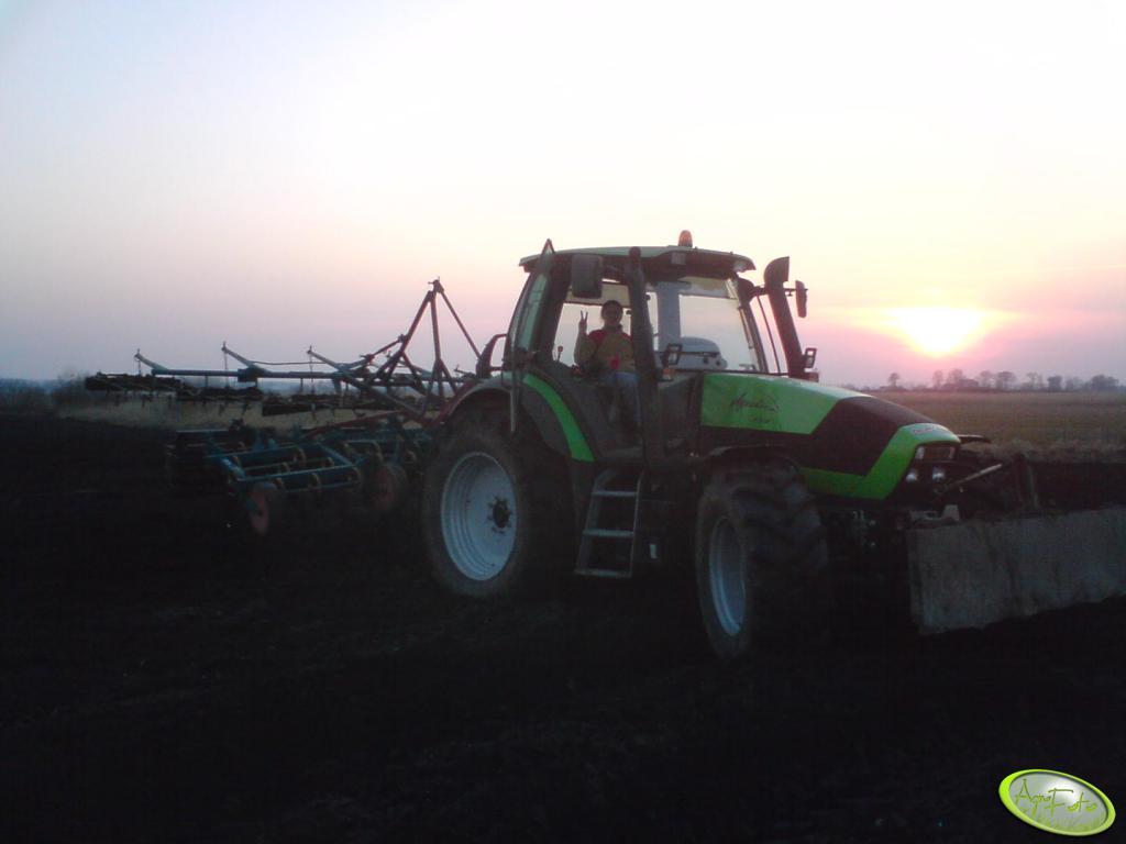 Deutz Fahr Agrotron 155 z włóką