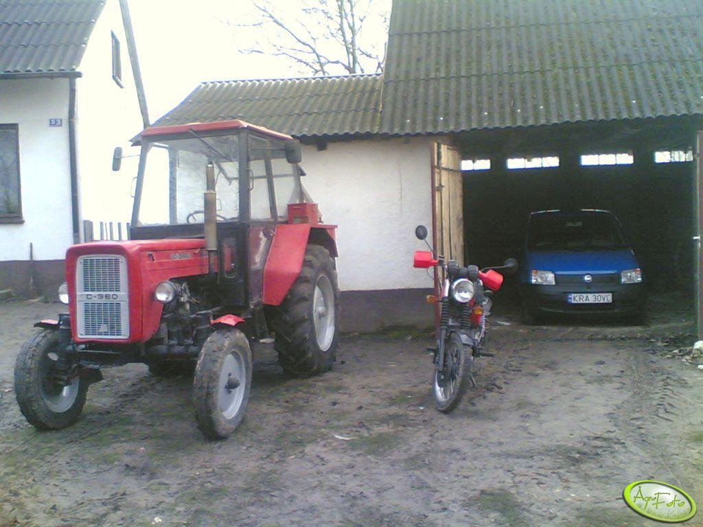 Ursus C-360 ETZ i Fiat