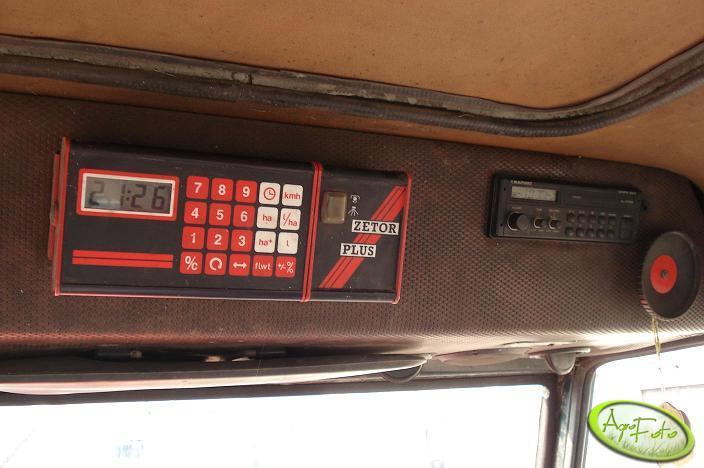 Zetor 7745 - komputer Zetor Plus