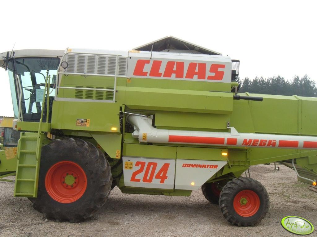 Claas Dominator Mega 204