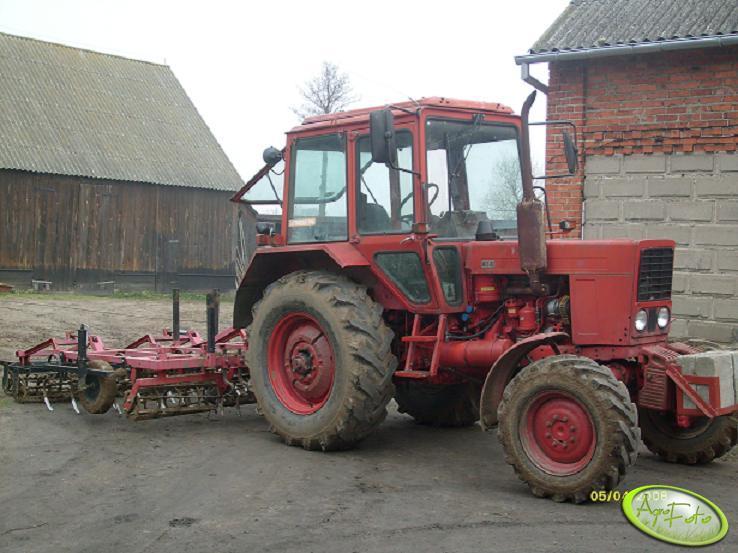 Mtz 82+Agro Factory 3,2