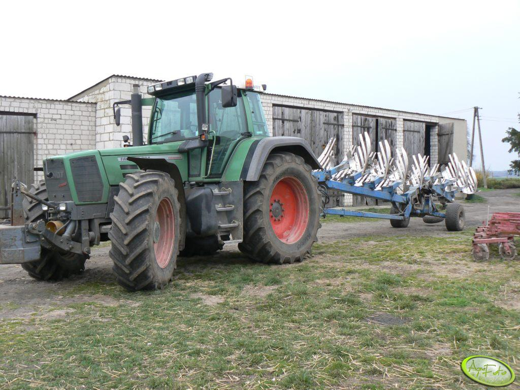 Fendt Favorit 824 + pług Rabe Werk