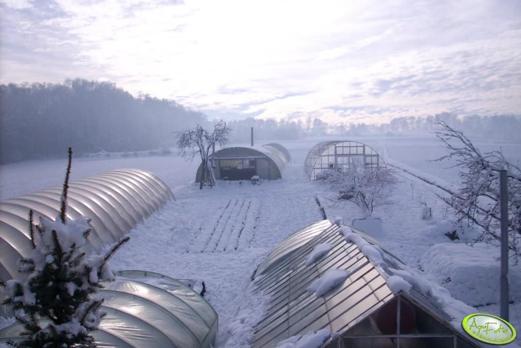 Tunele zimą
