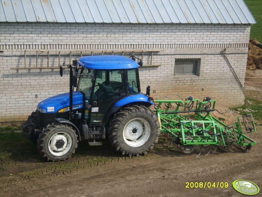 New Holland TD70D i Bomet 3,6