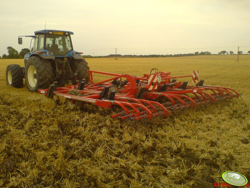 New Holland 8670 + Horsch