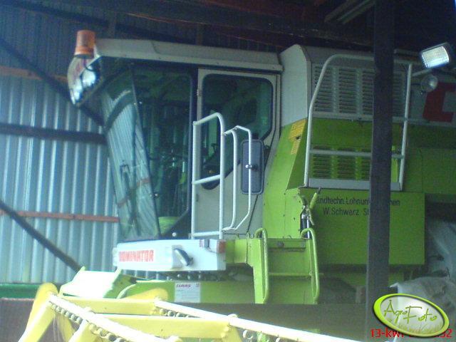 Claas Dominator 108sl Maxi - kabina