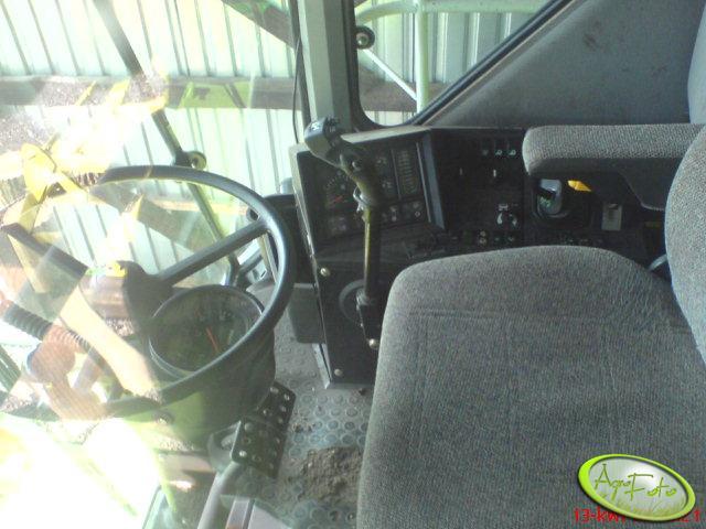 Claas Dominator 108sl Maxi - wnetrze
