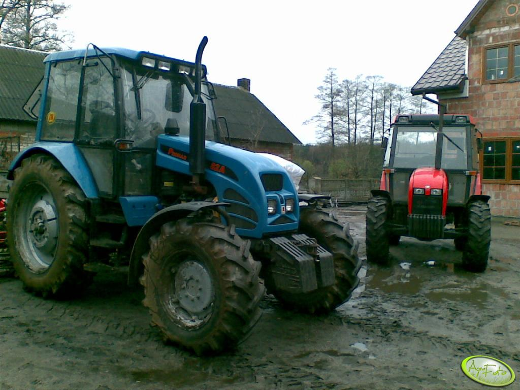 Pronar 82 A i Zetor 7340 TURBO