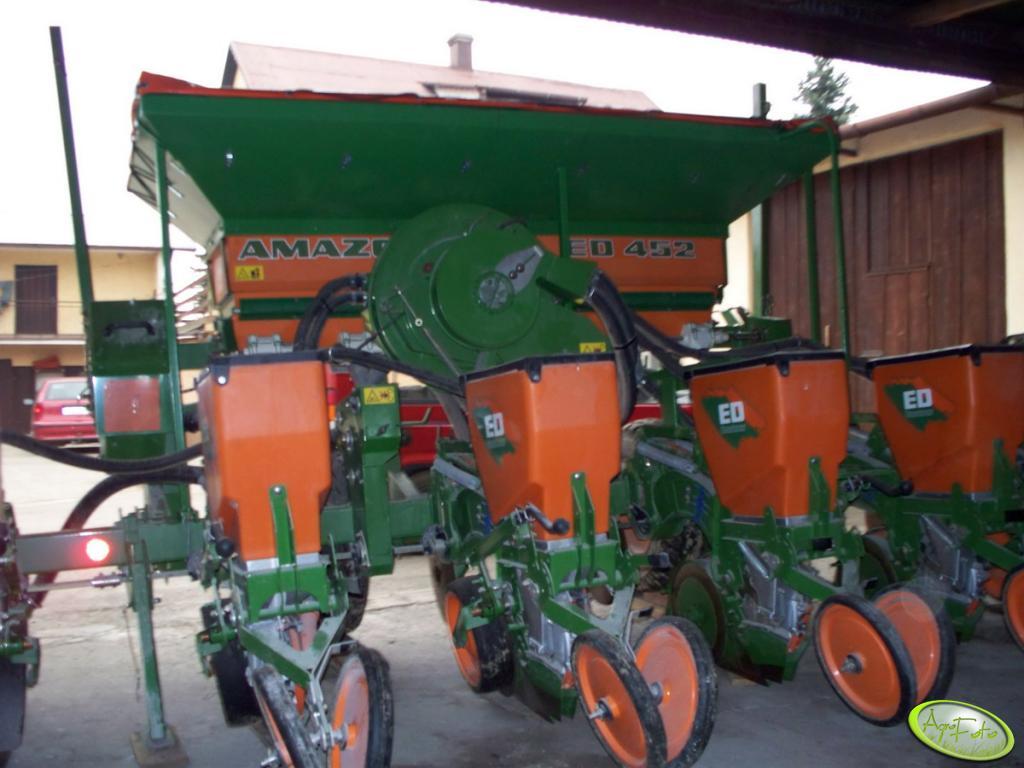 Siewnik do kukurydzy amazone Ed 452