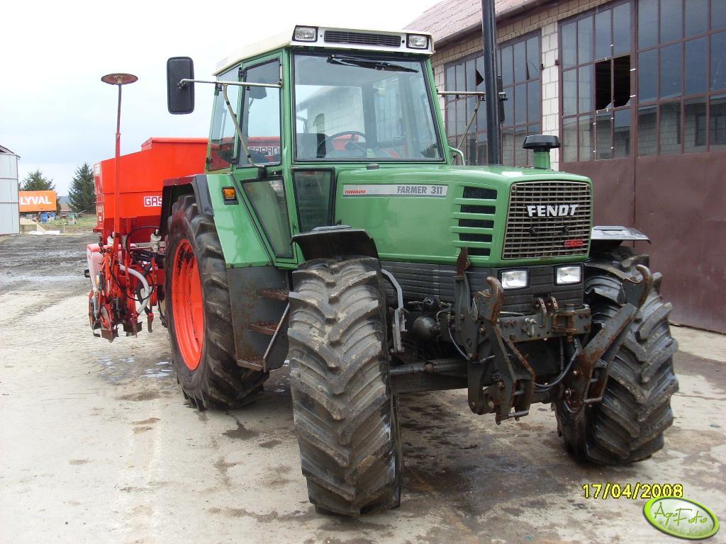 Fendt 311 + Gaspardo ST300