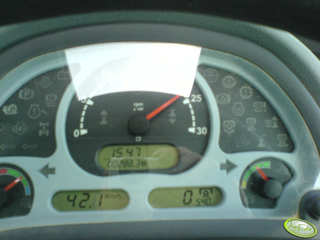 Landini - zegary podczas jazdy