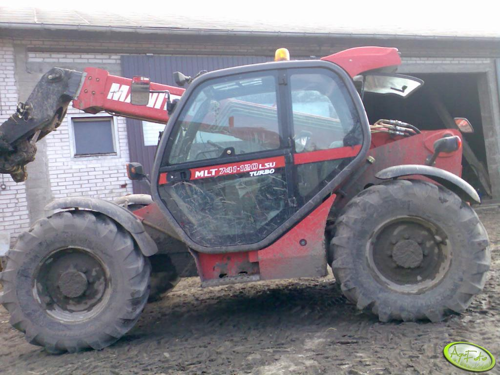 Manitou MLT 741-120 Turbo