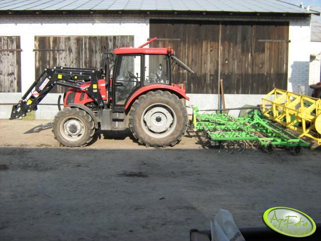 Farmer 8258 + agregat
