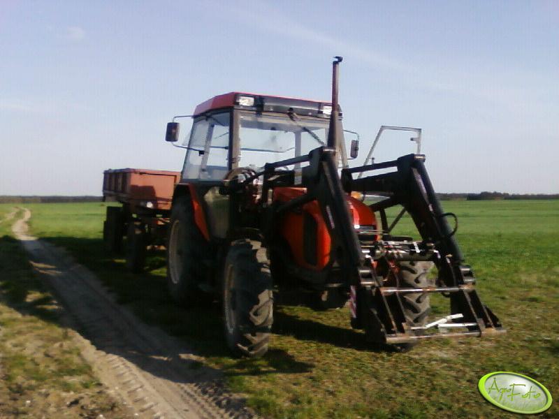 Zetor 6340 + Przycza