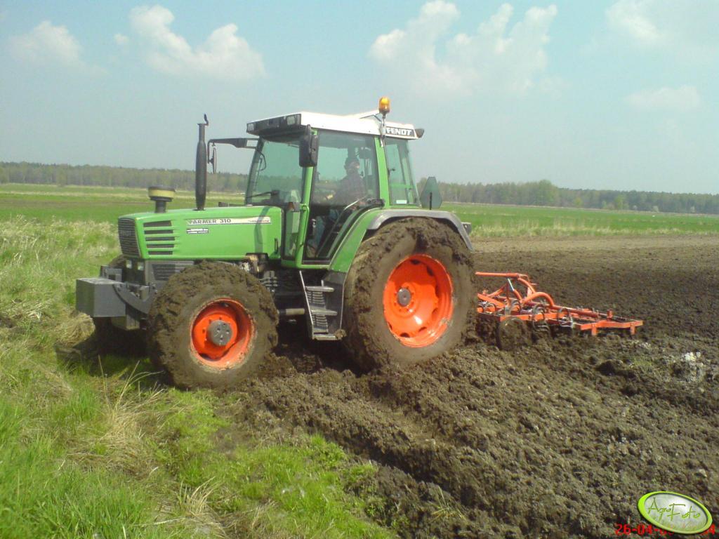 Fendt Farmer 310 + Brodnica