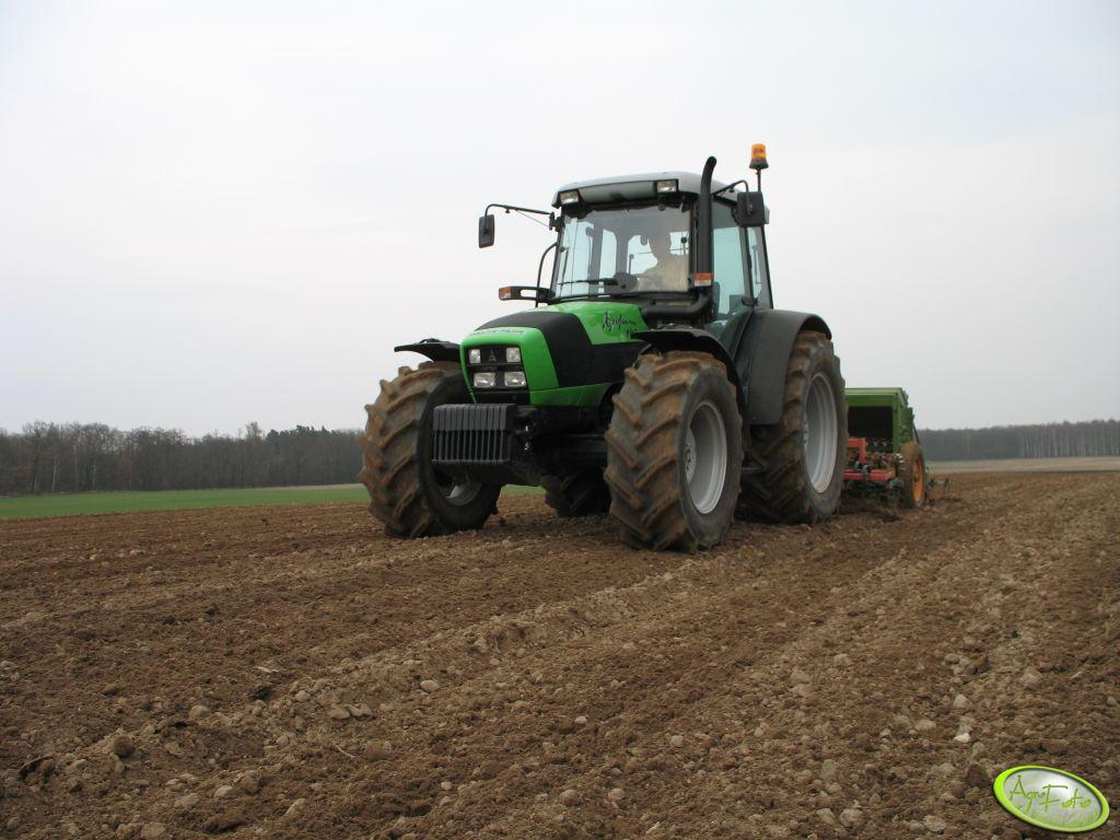 Deutz Fahr Agrofarm 100 + agregat uprawowo-siewny bierny 2.5