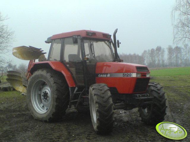 Case 5120 + Kverneland