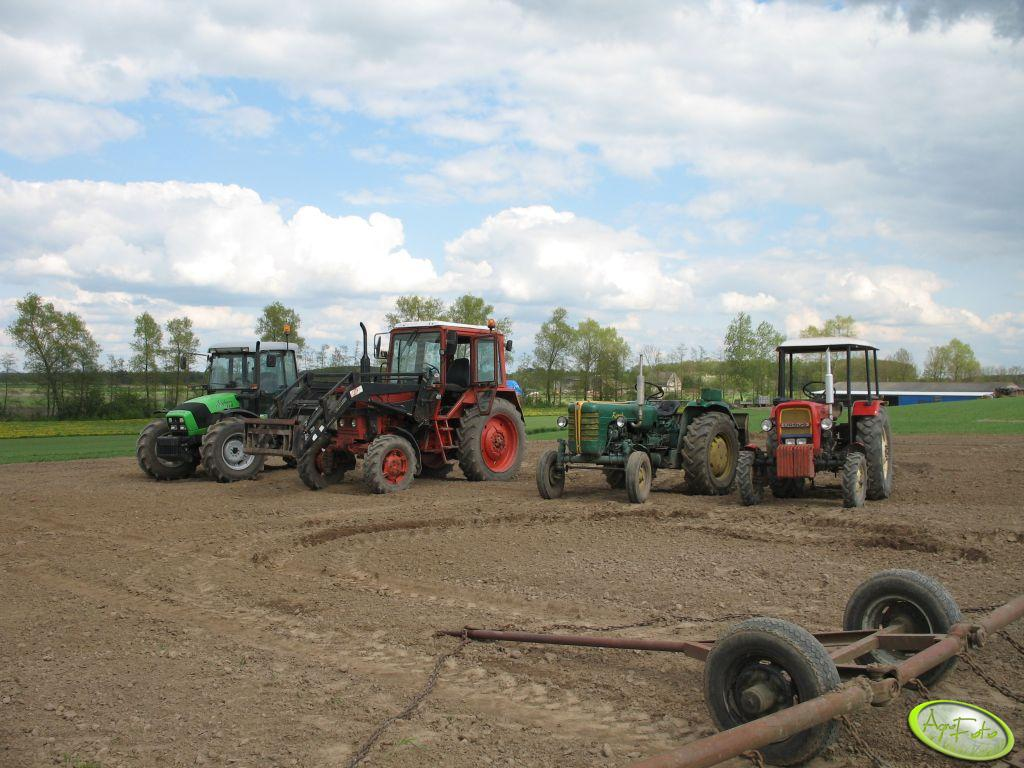 Deutz-Fah Agrofarm 100DT, Mtz 82, Ursus C-4011 i Ursus C-330