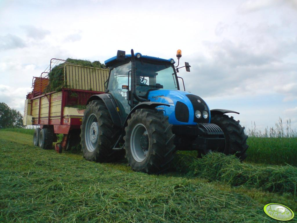 Landini Powerfarm 95 & Krone Turbo 5000